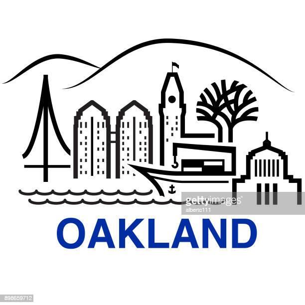 Oakland California Cityscape