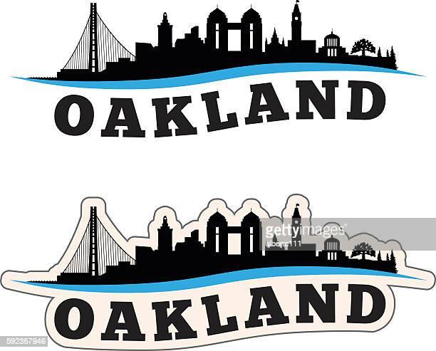 Oakland Cityscape Graphic