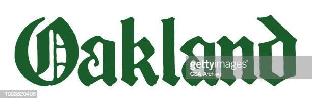 oakland - oakland california stock illustrations