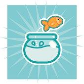 objects: goldfish
