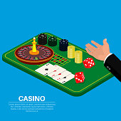 Objects of casino