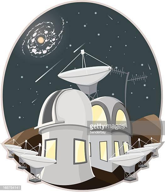 ilustraciones, imágenes clip art, dibujos animados e iconos de stock de observatorio. - galaxia espiral