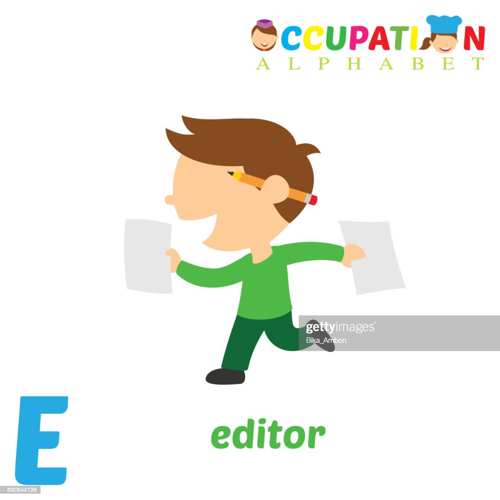 Occupation Alphabet with E Letter