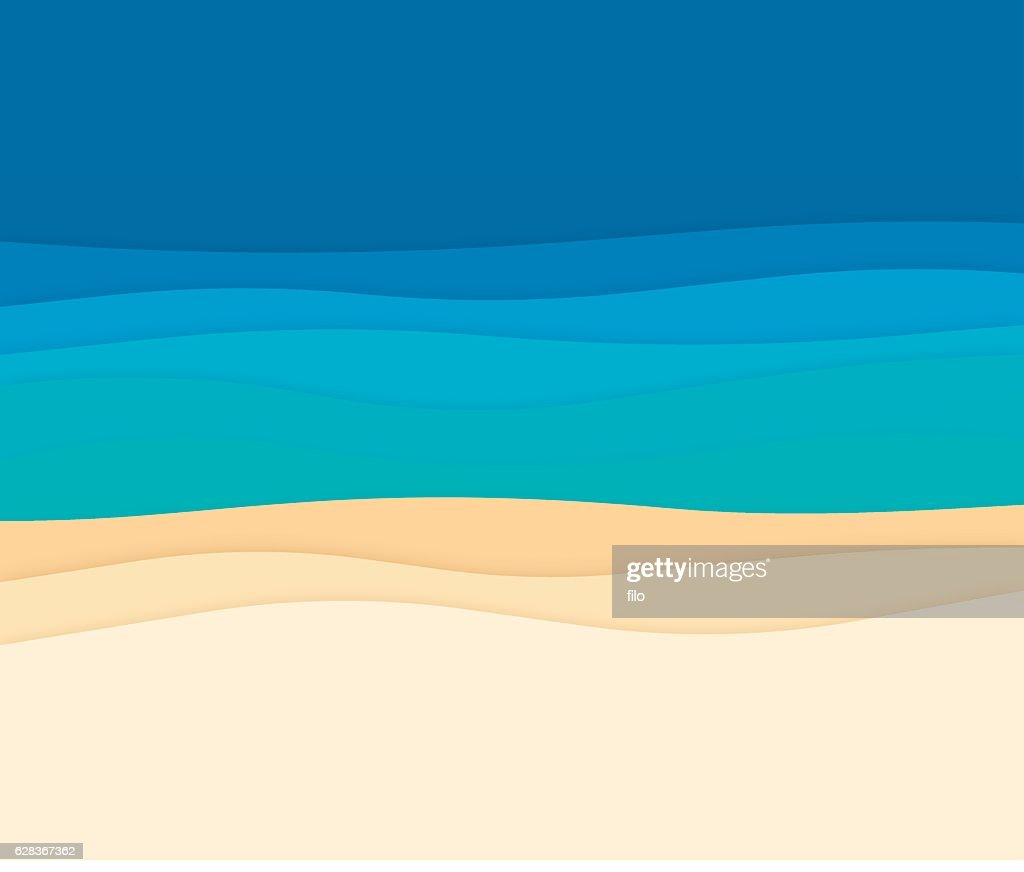 Ocean Abstract Background Waves