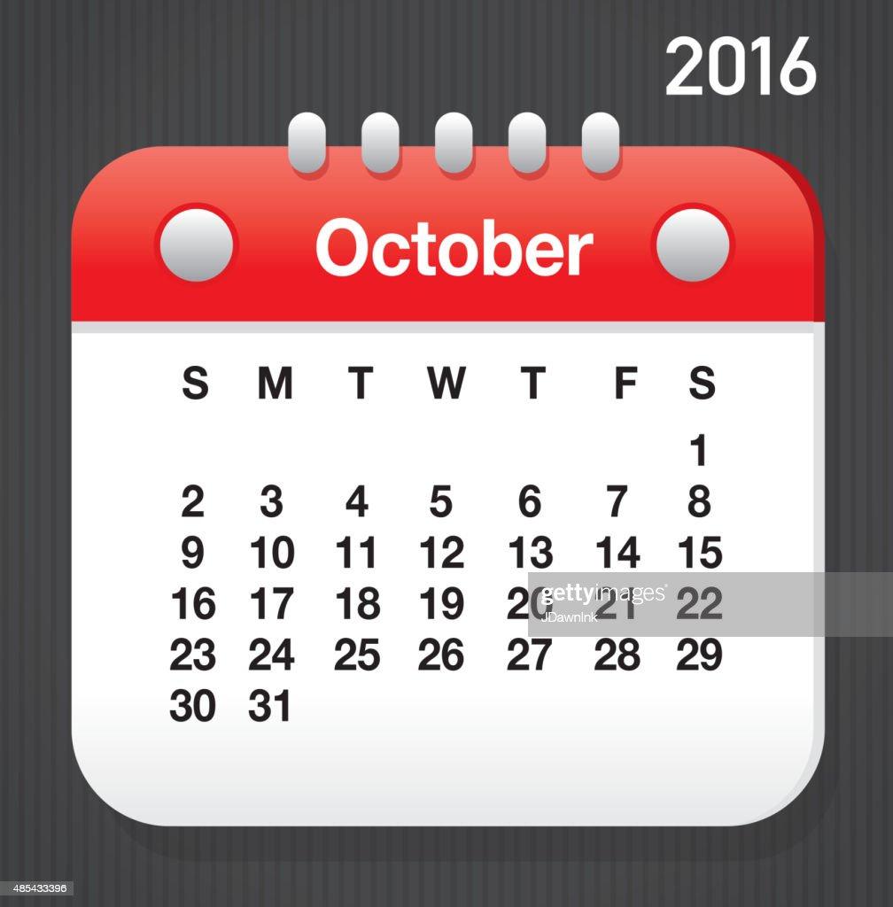 Oktober 2016 Allgemeiner Druckversion Der Kalender Vorlage Für ...