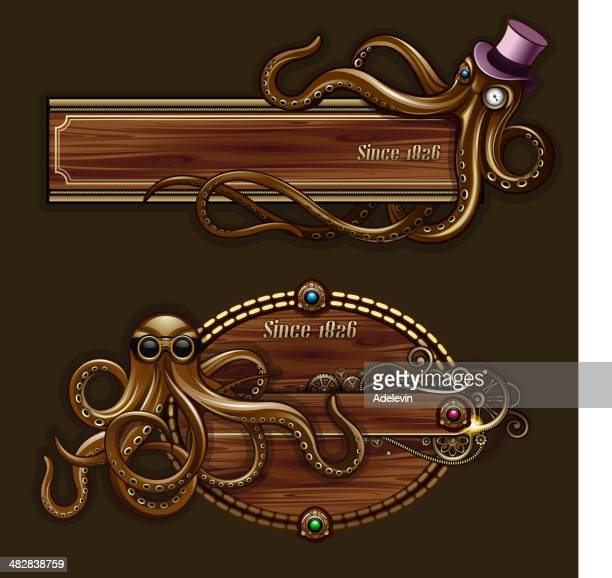 Octopus Steampunk Concept