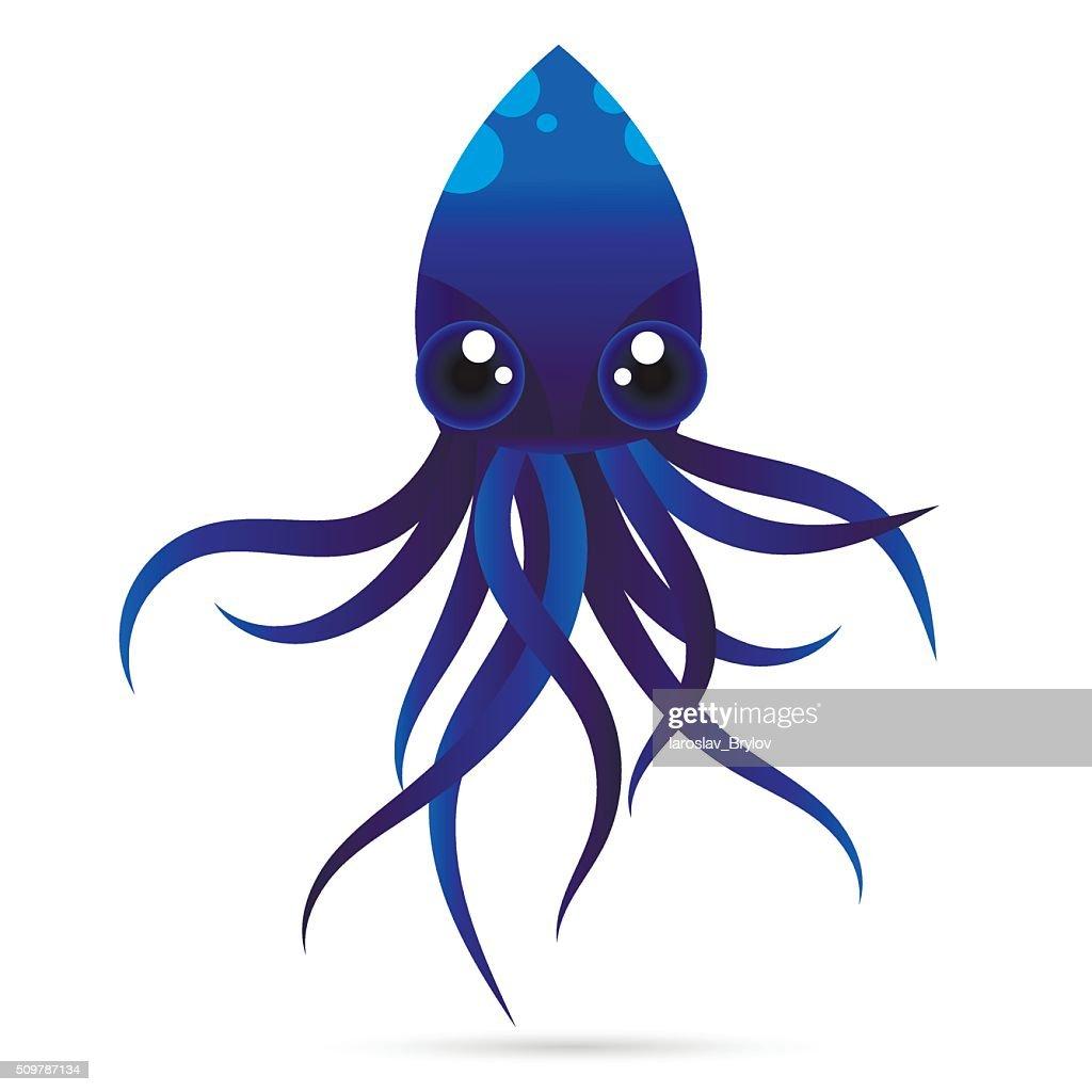 octopus vector logo