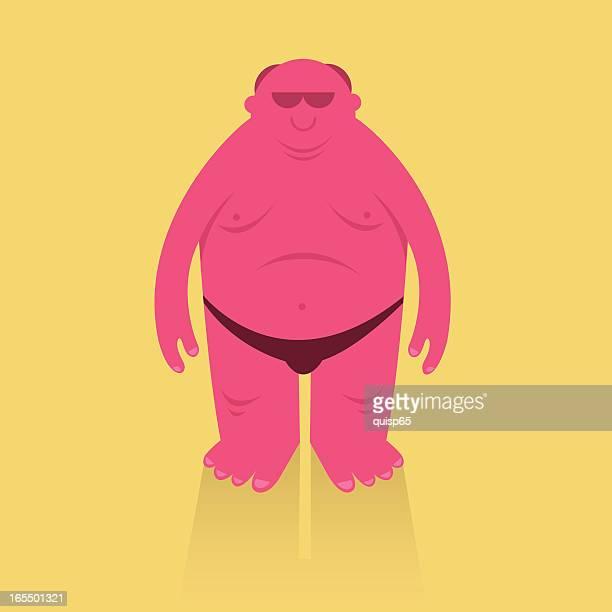 ilustraciones, imágenes clip art, dibujos animados e iconos de stock de oda a banana hamaca - quemado por el sol