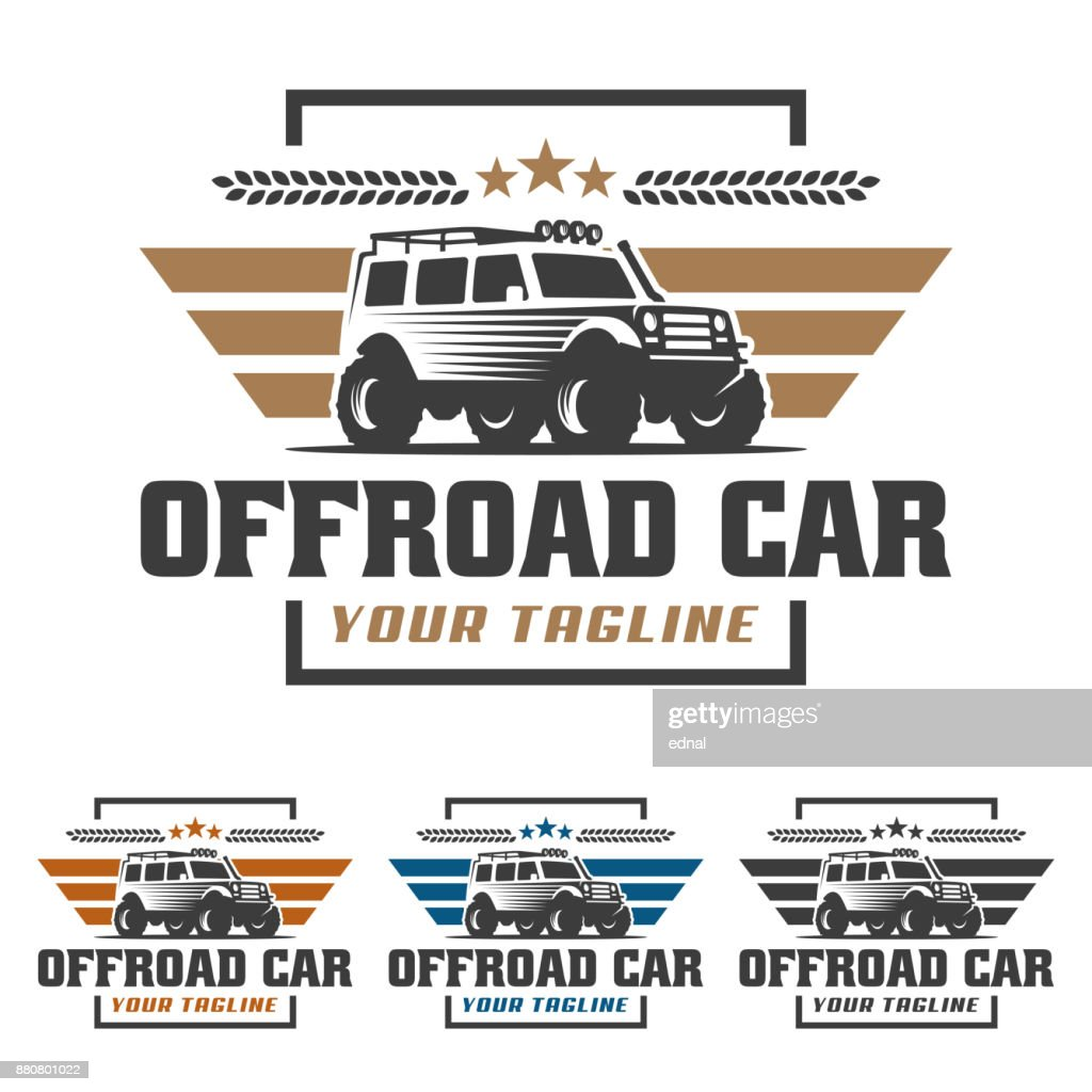 Off Road Car Offroad Suv Car Template Offroad Stock