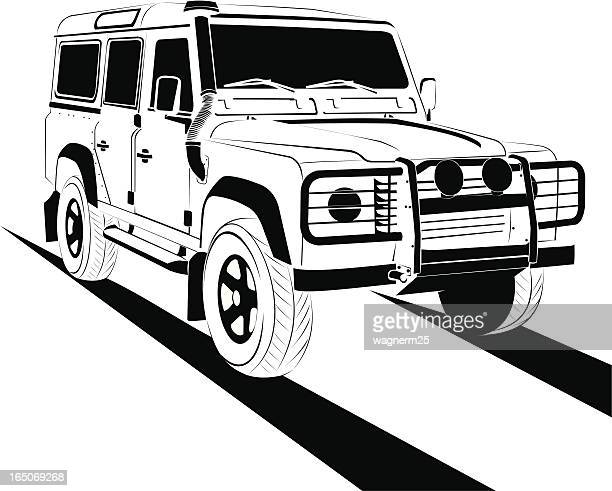 off road - rally car racing stock illustrations, clip art, cartoons, & icons