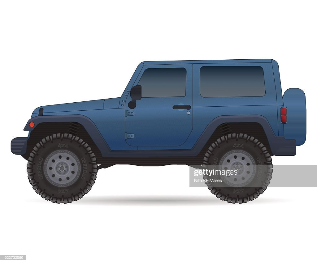 Off road vehicle, car for bad roads