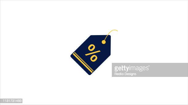 Offer Lable Red Label Tag Blank Icon