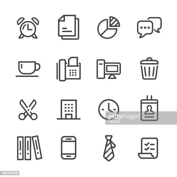 illustrations, cliparts, dessins animés et icônes de bureau et business icon - série en ligne - cravate