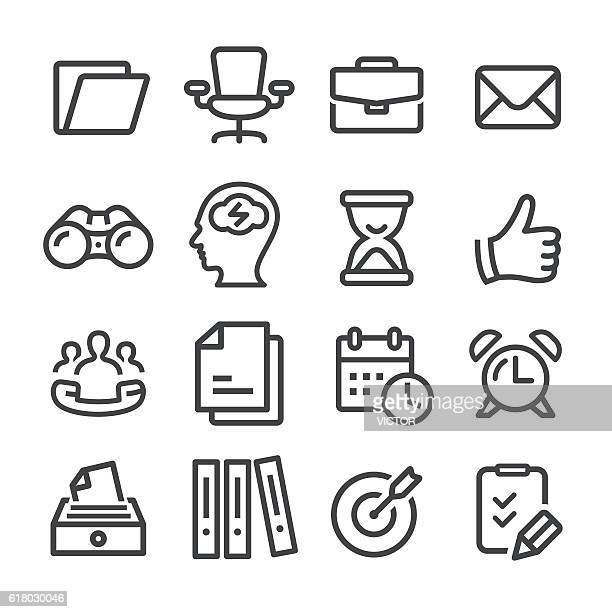 Office and Business Icons - Line Series