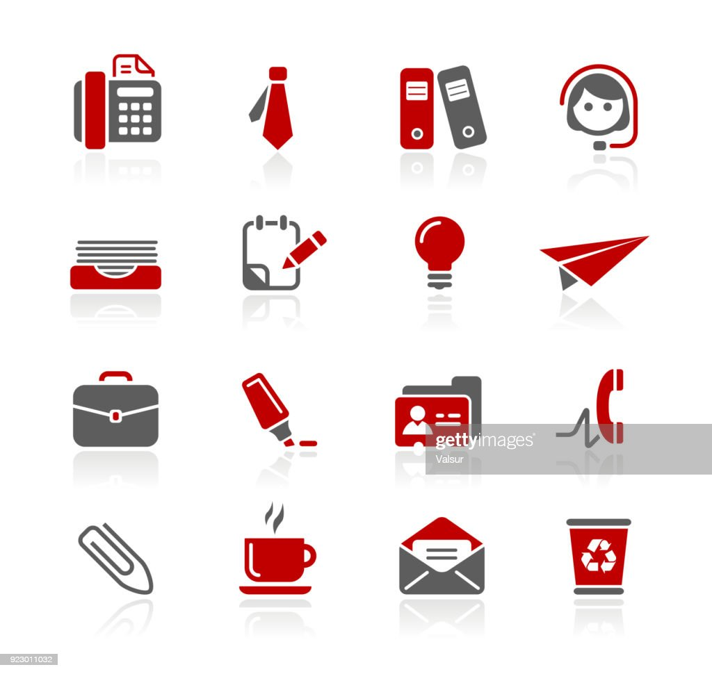 Office and Business Icons // Redico Series