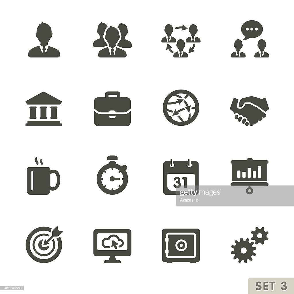 Office and business icons.