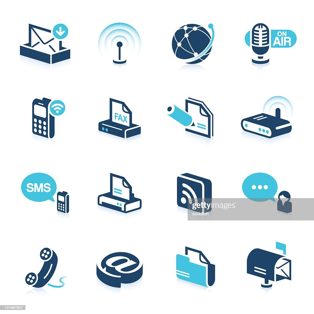 Office and Communication icons | star series