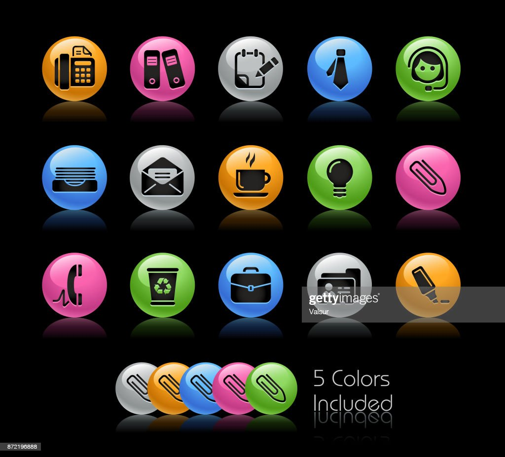 Office & Business Icons // Gelcolor Series