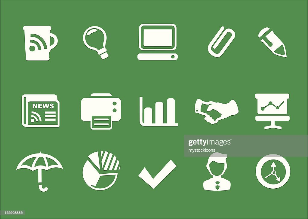 Office, Business Icons