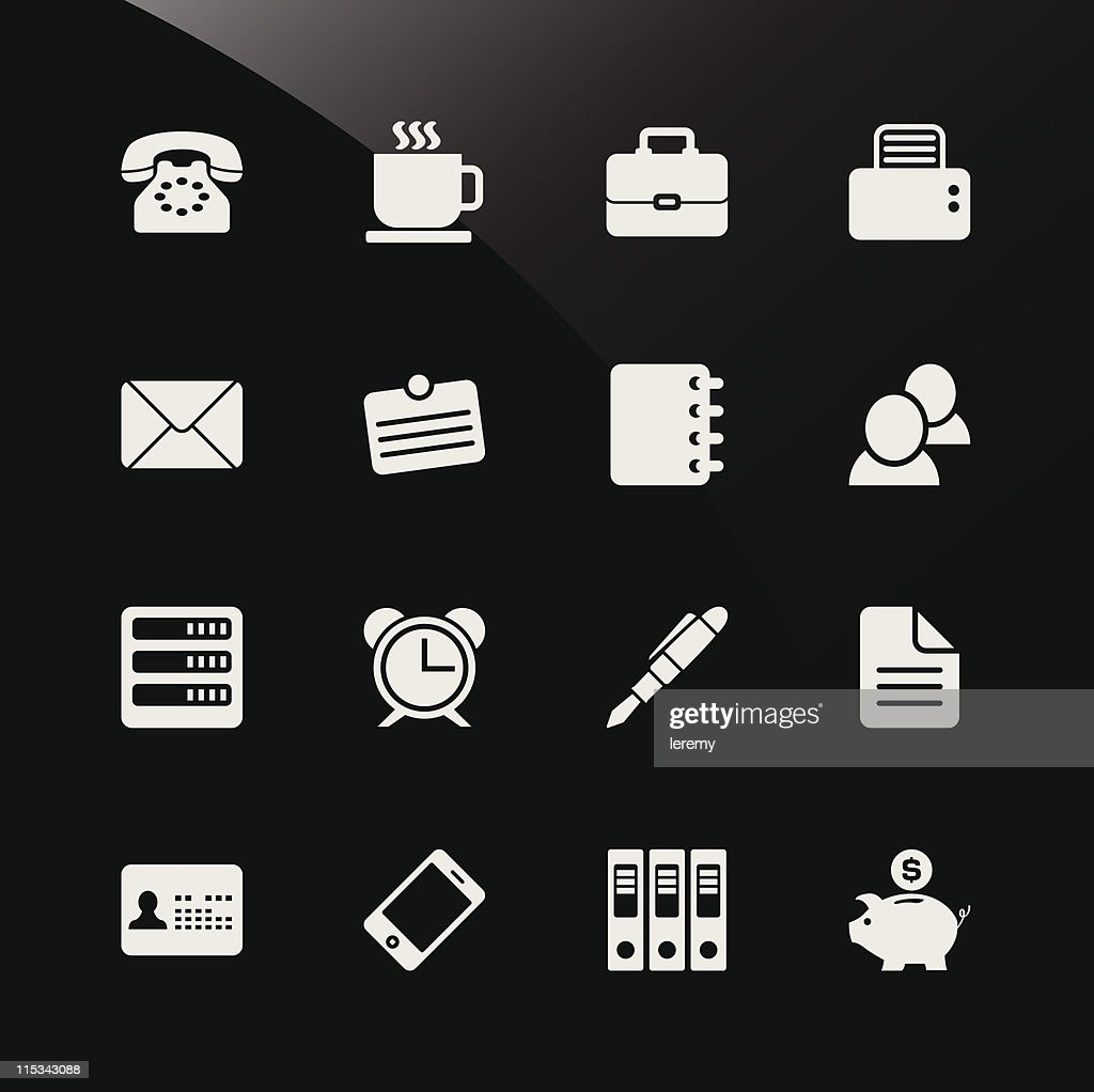 Office Business Web Icons