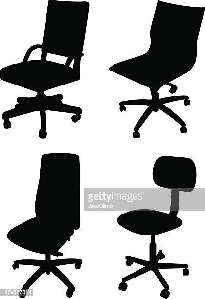 Office Chair Silhouettes