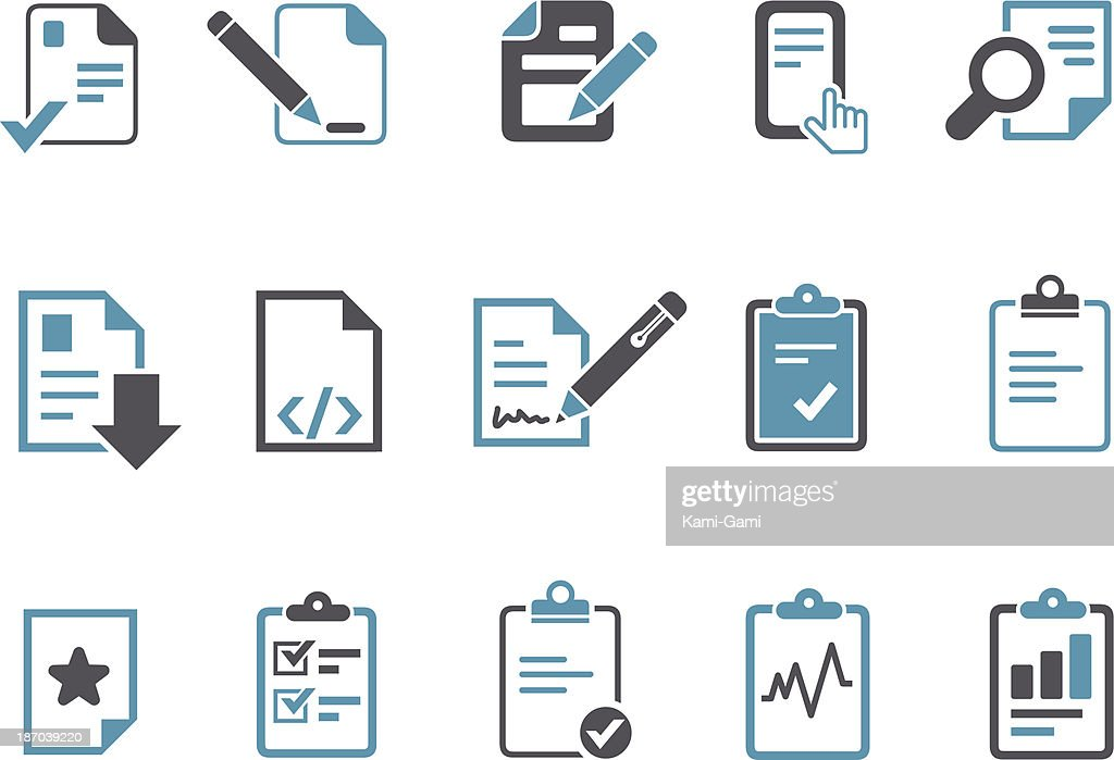Office docs Icon Set