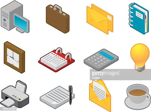Office icons | iSometric series
