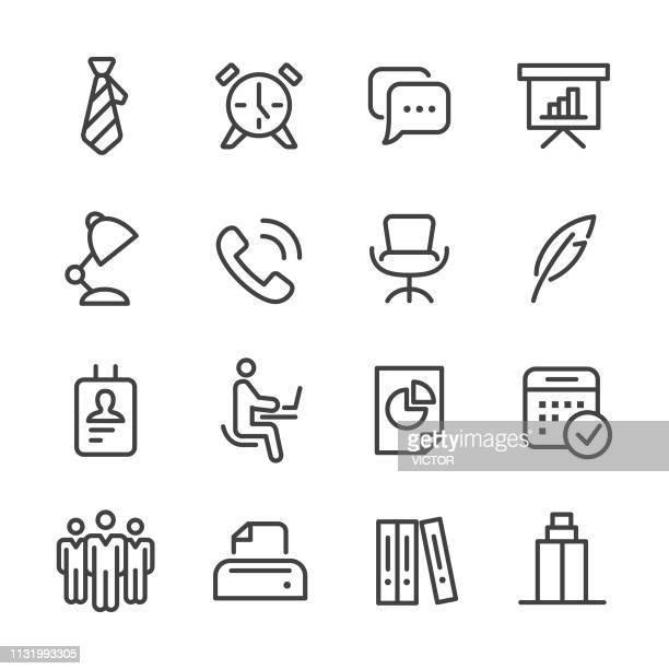 Office Icons - Line Series