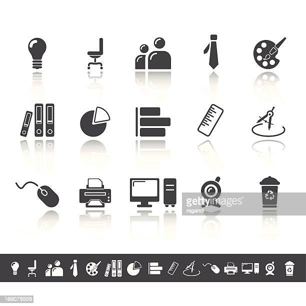 Office Icons/Simple gris