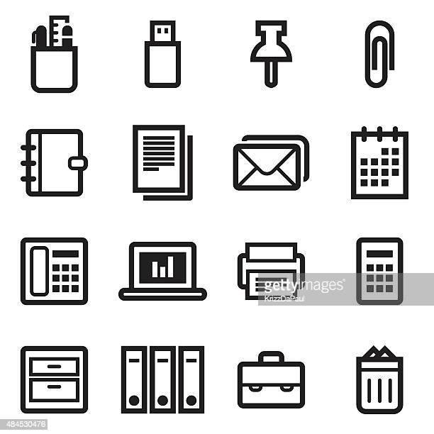office アイコン - ファイルトレイ点のイラスト素材/クリップアート素材/マンガ素材/アイコン素材
