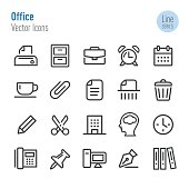 Office Icons - Vector Line Series