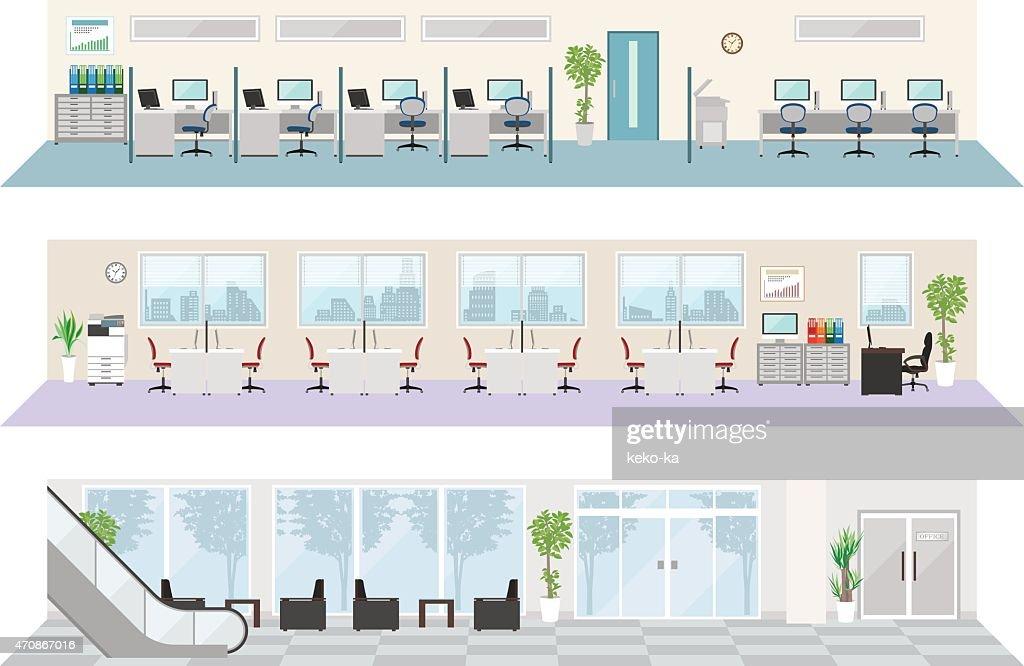 Office image illustrations