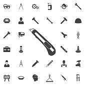 Office Knife Icon