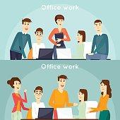 Office life.