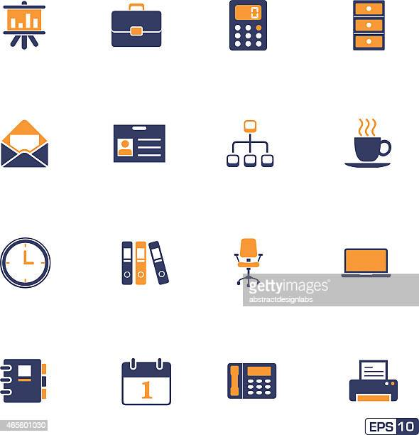 Office or Business Icons