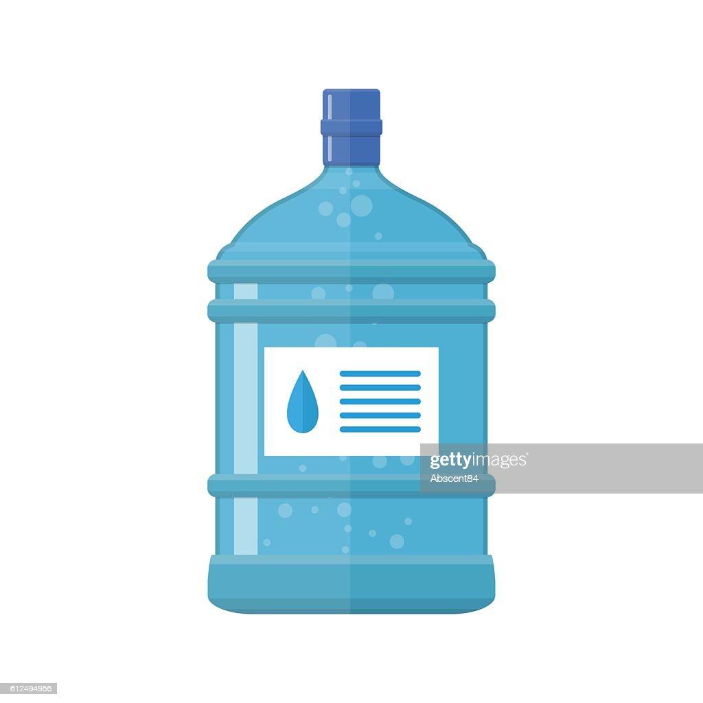 Office plastic bottle for water cooler,