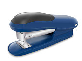 Office stapler in perspective view