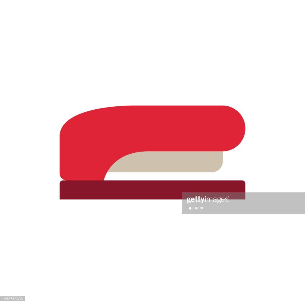 Office stapler vector isolated