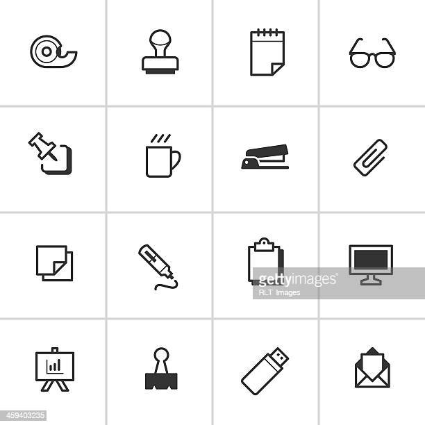 Office Supply Icons 1 — Inky Series
