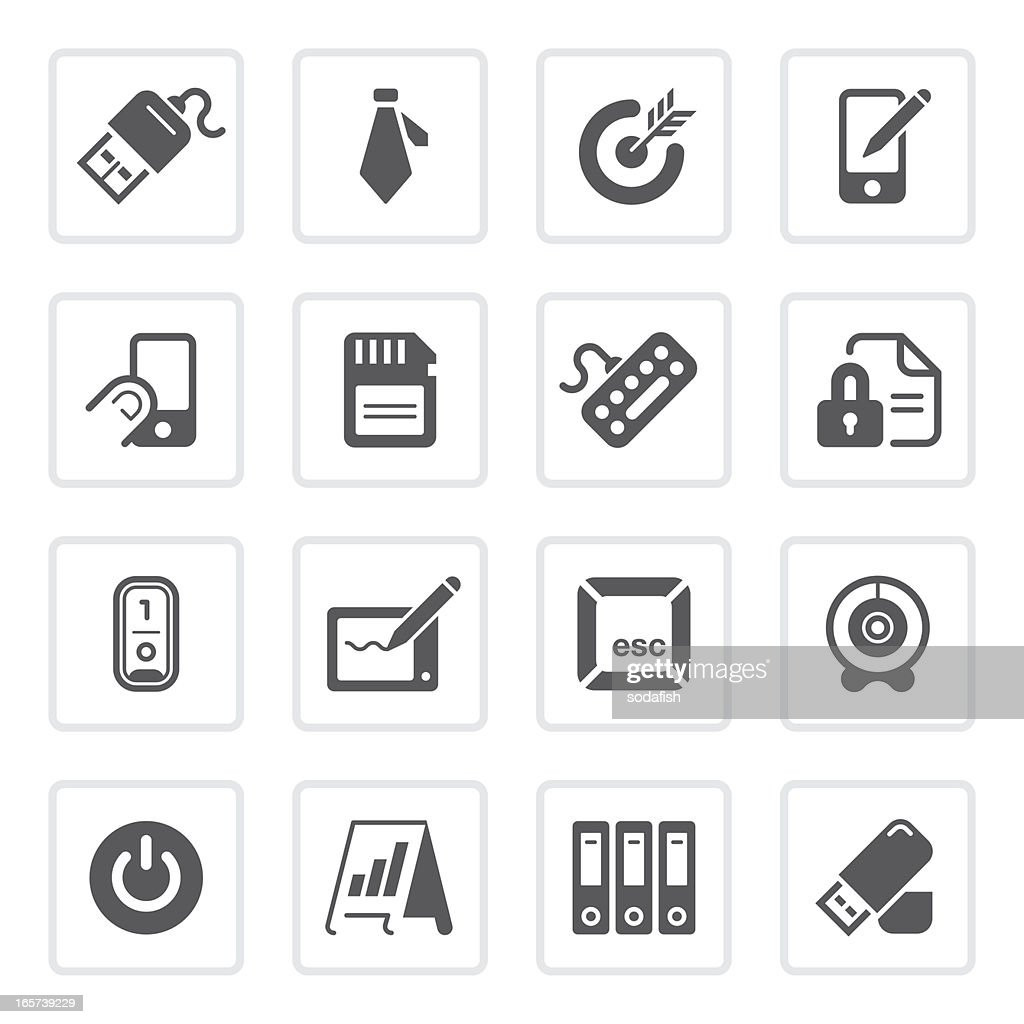 Office & technology icons  | prime series