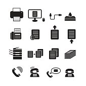 Office tool vector,icon set
