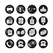 Office tools vector,icon set