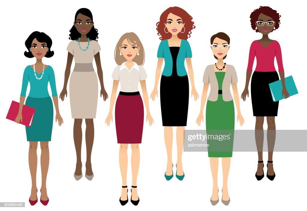 Office women : Stock Illustration