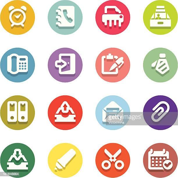 office_motley series_3 - rolodex stock illustrations, clip art, cartoons, & icons