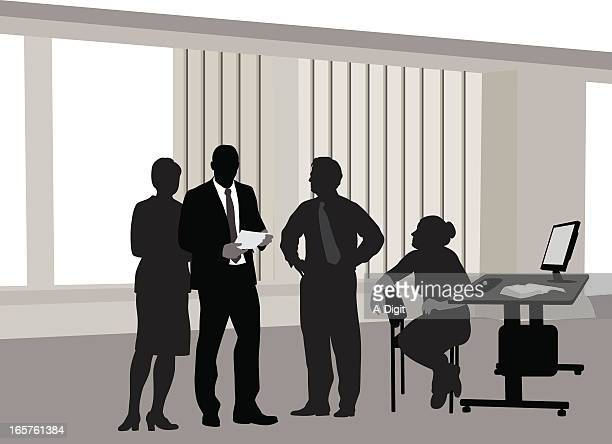 office'n lcd vector silhouette - blinds stock illustrations, clip art, cartoons, & icons