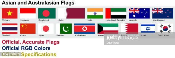 公式、正確なアジアとオーストラリアの旗 - パキスタン点のイラスト素材/クリップアート素材/マンガ素材/アイコン素材