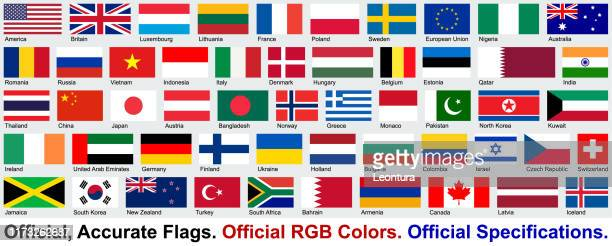 official flags (official rgb colors, official specifications) - armenian flag stock illustrations