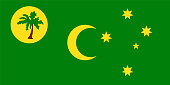 Official vector flag of Territory of Cocos ( Keeling ) Islands