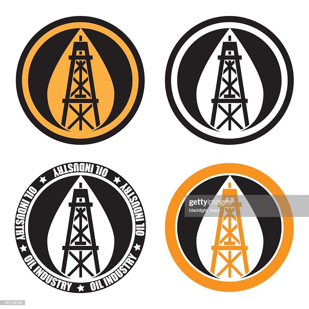 oil derrick logo