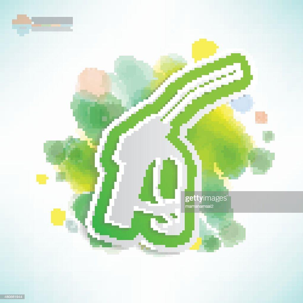 Oil design,Water colour concept,clean vector : Vector Art